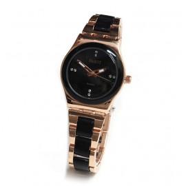 Reloj modelo lady queen gold rosse y negro