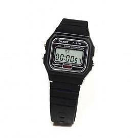 Reloj modelo F-91 negro