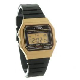 Reloj tressa dorado Caipi crono caucho 38mm