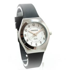 Reloj tressa sumergible negro y acero 34mm