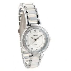 Reloj tressa blanco con nacar 32mm