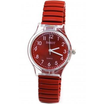 Reloj malla extensible color rojo 16mm