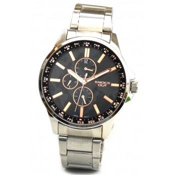 Reloj Knock out hombre KN2446 metal 43mm