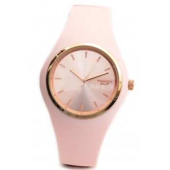 Reloj Knock out mujer KN8469 caucho liso 35mm