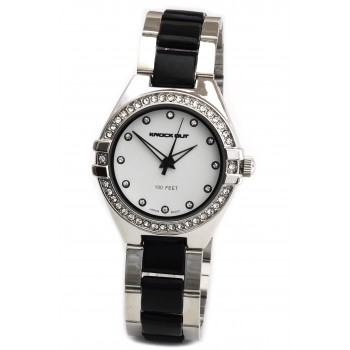 Reloj Knock Out KN2450 mujer metal 35mm