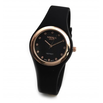 Reloj Knock out mujer KN8449 caucho 30mm