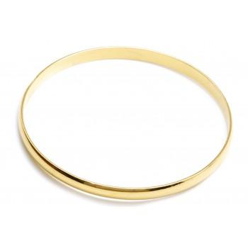 Eslcava de acero dorado 5mm