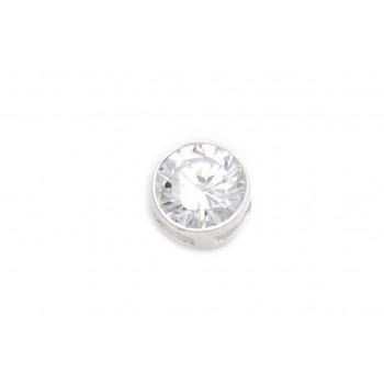 Dije de plata mini susano pasante 5mm