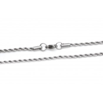 Cadena de acero soga 1mm 40cm