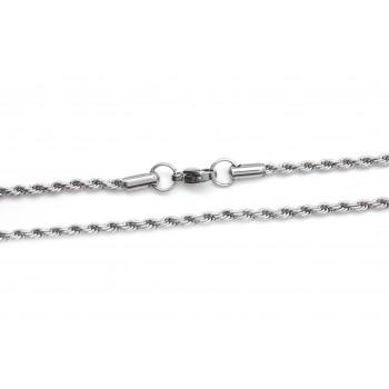 Cadena de Acero soga 2mm 50cm