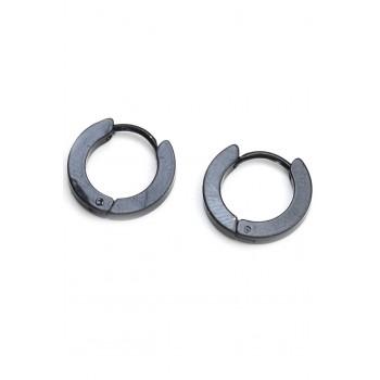 Aros de acero argollas negras 12mm