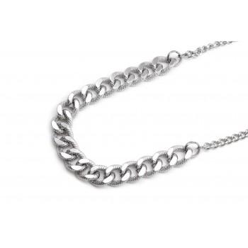Collar de acero grumet labrada 40cm