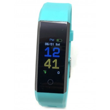 Reloj Tressa Smart Band azul sw120 20x42mm