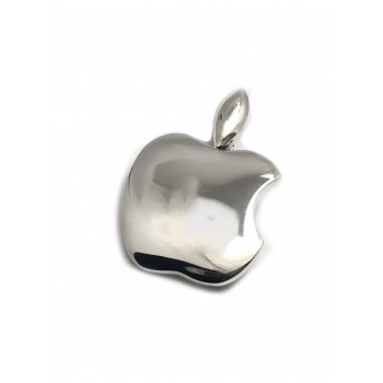 Dije de plata manzana 24mm