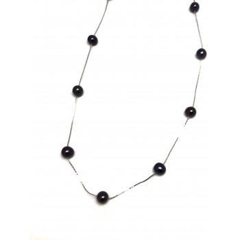 CADENA c/perlas bl-color