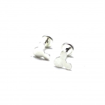 Aros de Plata abridores Mickey 5mm