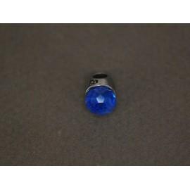 Dije de acero lady-dy azul 10mm