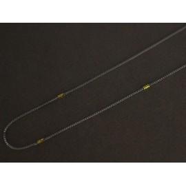 Cadena de Acero veneciana con duble 45cm