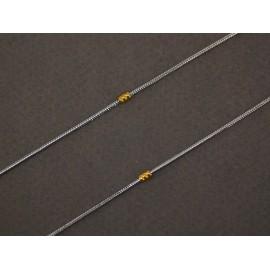 Cadena de Acero cola de ratón con duble 50cm